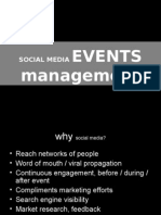 Social Media Event Management