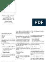 Vascular Access Care (Leaflet)