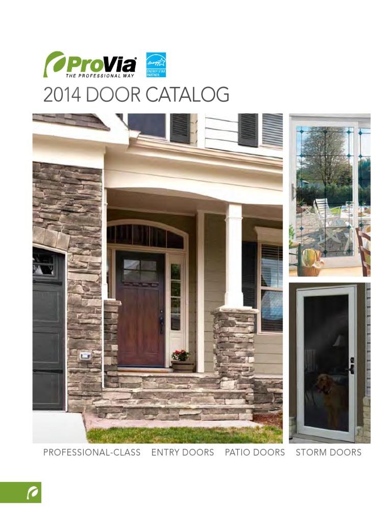Door Catalog 2014 Door Composite Material