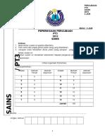 Percubaan Pt3 Sains 2015