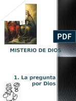 Clase 1 - Misterio de Dios