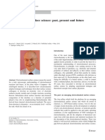 Electrochemical Surface Science Present and Future