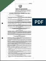 Acuerdo Ministerial 3667-2012