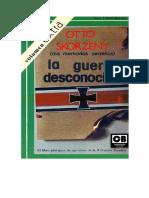 Skorzeny Otto La Guerra Desconocida