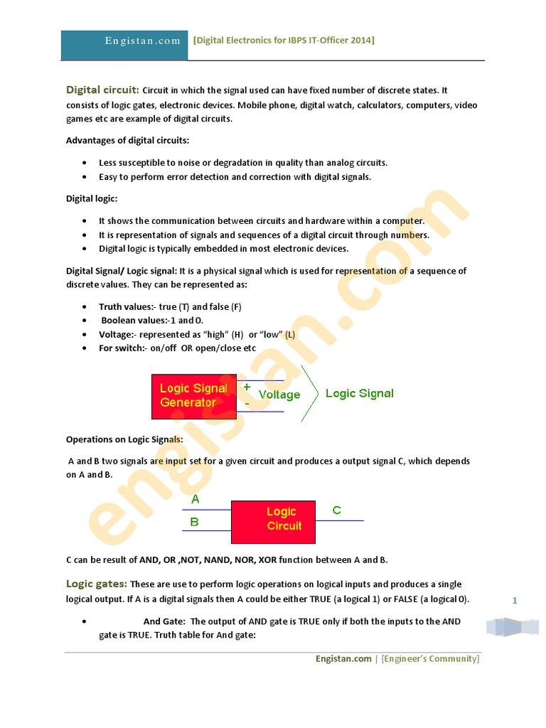 Digital Electronics pdf   Digital Electronics   Electronic