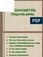 Trigonometría Plana II