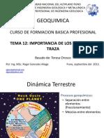 9. Geoquimica de Los Elementos Traza