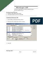 InfoPLC Net Micro 1100 Lab3
