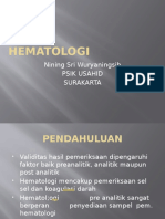 Hematologi Sahid