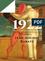 Literature, Culture, Politics - Jean-Michel Rabate