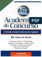 JB Bernardo - Conhecimentos Bancários