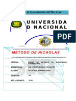 Metodo de Nicholas y Mine Method Selection Sistem