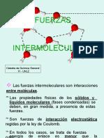 FUERZAS intermoleculares PPT