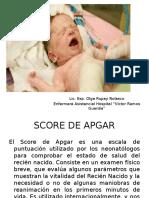 PUNTUACIÓN DE APGAR .pptx