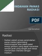Perpindahan Panas Radiasi