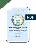Ampliacion y Mejoramiento Del Sistema de Agua y