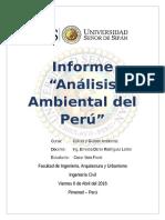 Analisis Ambiental en El Perú