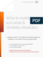 What is Mysticism, And What is Christian
