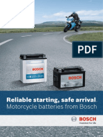 Brochure Motorcycle Batteries m6 m4
