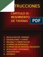 Construcciones -Cap III - Movimiento de Tierras