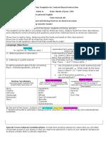 cbi lesson plan template filled