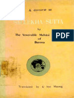 282. A Discourse on Sallekha Sutta - Mahasi Sayadaw