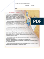GUÍA DE COMPRENSIÓN LECTORA 4° básico