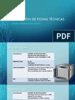 Colección de Fichas Técnicas Final