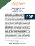 19 La Irretroactividad Del Proceso Penal