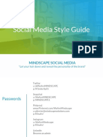 social media style guide