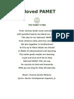 Pamet Hymn