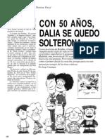 Dalia Solterona - Jorge Consuegra - Cromos