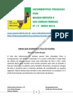 1 - Informativos Tecnicos Mai 2016