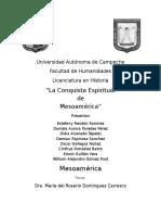 La Conquista Espiritual Mesoamerica