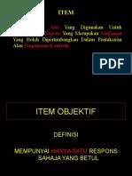 Pembinaan Item Objektif- Agama Kuantan- Melaka (Nota)_2