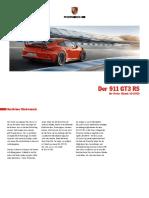 911 GT3 RS Preisliste