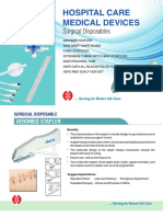 Surgical Diaposables Products by Hemant Surgical Industries Ltd.