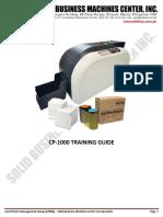 Hiti CP-1000 Adminiral ID Card Printer Training