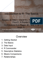 Intro to R Presentation