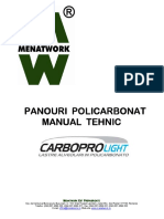 panouri policarbonat