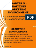 CHAPTER 5 - Marketing Environment