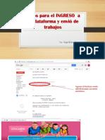 Guia Basica Para Ingresar y Enviar Trabajos via Plataforma