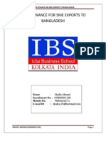 trade finance for sme exports to Bangladesh