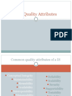 Software Quality Arrtibutes
