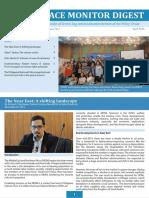 Peace Monitor Digest April 2016