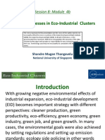 Role of Businesses in Eco-Industrial Clusters