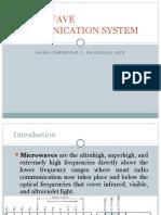 Microwave Communication System