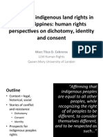 Defending indigenous land rights in the Philippines