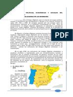 Tema 1. Características Política%2c Económicas y Sociales Del Antiguo Régimen.