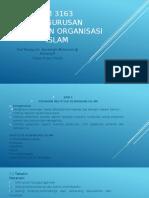 Nota Pengurusan Kewangan Organisasi Islam